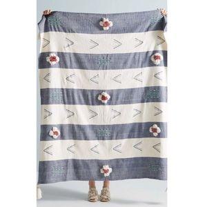 NWT Anthropologie Kamryn Summer Throw Blanket